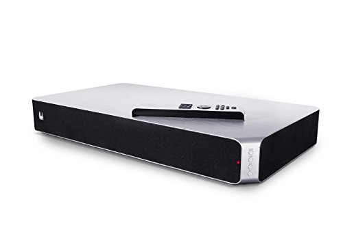 Roth Neo 6.2 SoundCore Sound Base with Twin Subwoofers for TV - Silver