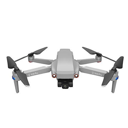 2021 JJ106 Pro 1.2KM FPV 3-Ajes Gimbal 4K Cámara WiFi GPS RC Drone Quadcopte