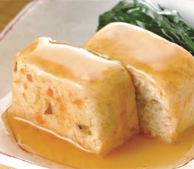 加賀伝統野菜の豆腐ローフ和風あんかけ850g (10個入) (小分けトレイ) 17366