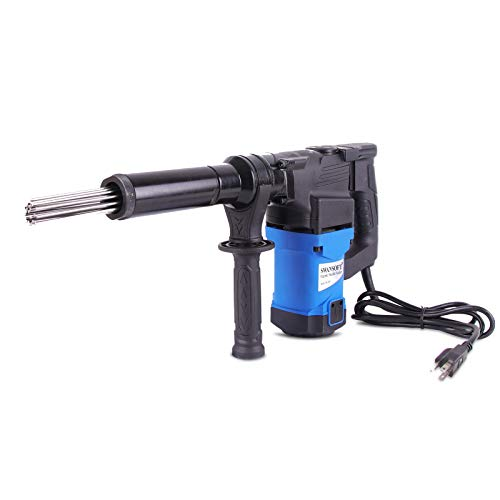 Electric Needle Scaler, 1100W High-Power Pistol Grip Needle Scaler, Industrial Grade Needle Scaler for Removal of Rust, Weld Slag and Paint