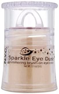 (Pack 2) NYC New York Color Sparkle Eye Dust Eye Shadow, 2- #855 City Sunkissed