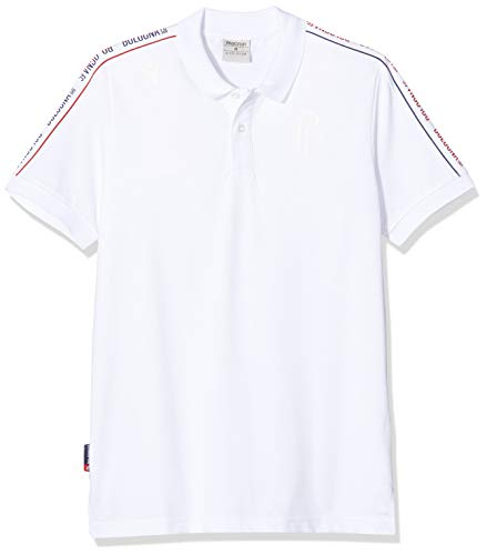 Macron Jersey Senior Bologna FC 2019/2020, Polo Keine Genehmigung XL Bianco