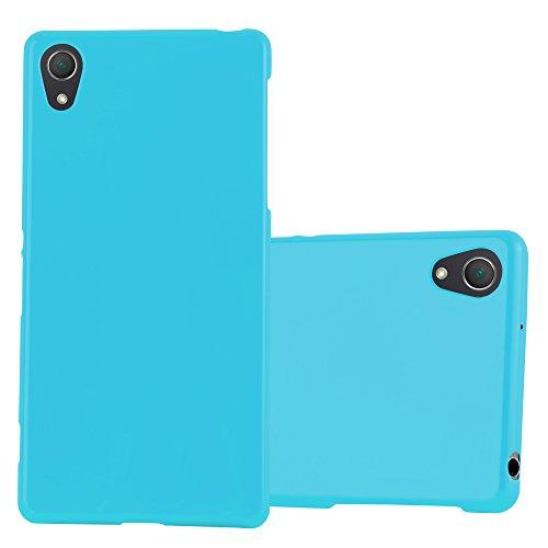 Cadorabo Funda para Sony Xperia Z2 en Jelly Azul Claro - Cubierta Proteccíon de Silicona TPU Delgada e Flexible con Antichoque - Gel Case Cover Carcasa Ligera