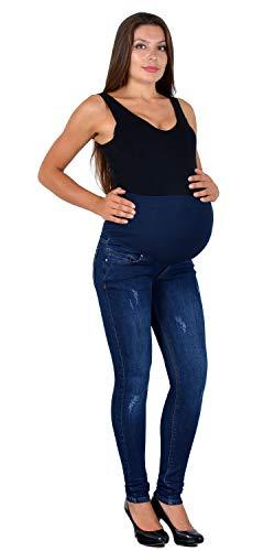 ESRA Umstandshose Jeans Hose für Schwangerschaft Skinny Schwangerschaftsjeans Schwangerschaftshose Maternity J533