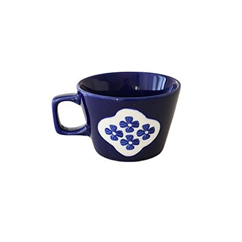 SXXYTCWL Taza De Café Cerámica Elegante Taza De Café para Hacer Viejos Latte Cappuccino Espresso Tazas De Café Taza De Desayuno Taza De Leche Adecuada para Los Regalos De Familia del Hostel