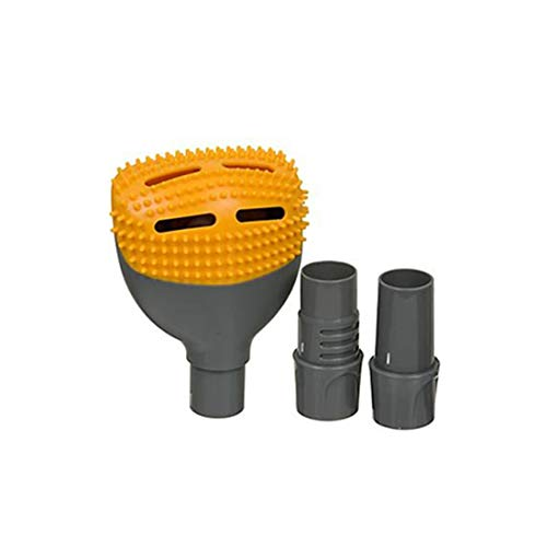 MTI Compatible with Fur Vac Pet Hair Vacuum As Seen on TV Brush Head Attachment Universal Ontel