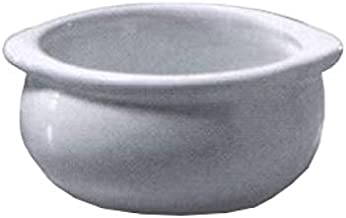product image for Diversified Ceramics DC12B-LBD Onion Soup Bowl, 10 oz, 4-1/4 inches Dia. x 2 inches H, Rolled Edge, Priced Per Case