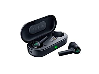 Razer Hammerhead True Wireless Bluetooth Gaming Earbuds: 60ms Low-Latency - IPX4 Water Resistant - Bluetooth 5.0 Auto Pairing - Touch Enabled - 13mm Drivers - Classic Black (B07Z77V1RH) | Amazon price tracker / tracking, Amazon price history charts, Amazon price watches, Amazon price drop alerts