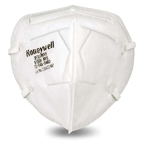 Honeywell DF300 N95 Flatfold Disposable Respirator- Box of 20, White