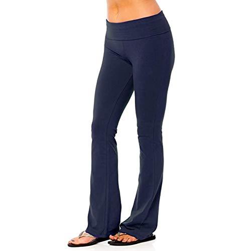 FunAloe Damen Flare Yoga Hose Fitness Hose Yogahose,Leggings Damen Sport Fitness...