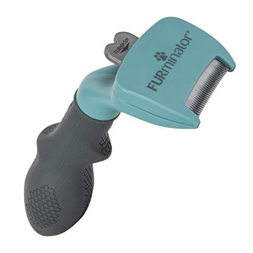 FURminator deShedding Tool, Taglia del Gatto S, Spazzola per Gatti Piccoli per Rimuovere il SottoPelo, a Pelo Lungo