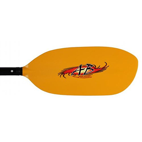 AQUA BOUND Shred Fiberglass 4-Piece Kayak Paddle-196cm