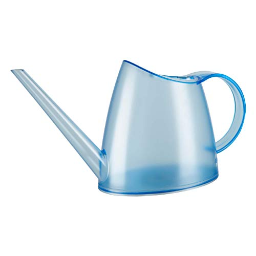 Emsa 518683 Fuchsia Gießkanne, transparent, 1,5 Liter Fassungsvermögen, Kunststoff, Topasblau