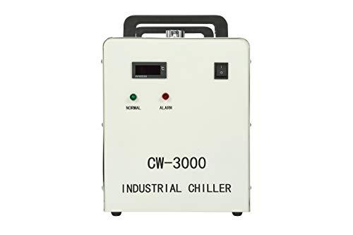 Enfriador de agua industrial Cool CW-3000AG para máquina grabadora de tubos láser CO2 de 50W 60W 80W