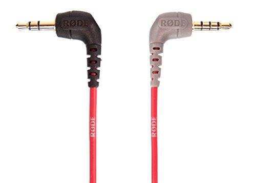 JOBY JB01507-BWW GorillaPod 3K Kit Flexibles und leichtes Stativ (mit Kugelkopf für DSLR-, CSC- und spiegellose Kameras) & Rode Anschlusskabel auf Handy (0,4 m, 3,5 mm Klinkenstecker) rot