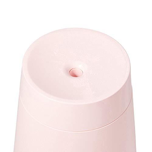 Francfrancフランフランストラ超音波加湿器加湿器卓上超音波式加湿器加湿器スチーム卓上加湿器アロマ対応アロマウォーターピンク加湿器