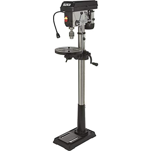 Klutch Floor Drill Press - 16-Speed, 13in. 3/4 HP, 120V