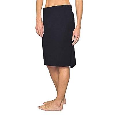 Jofit Women's Athletic Clothing Long Nouveau Skirt, Size Large, Black