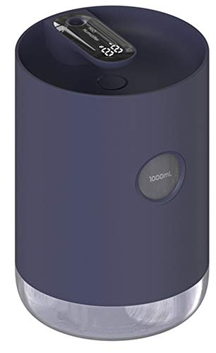 OLDFAI Humidificador 1000ml, Humidificador Ultrasónico Silencioso, Humidificadores de Aire Silencioso con alimentación USB, Luz Nocturna Hogar Dormitorio Oficina Yoga,Azul