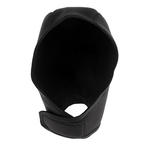 Gorra de Neopreno Usar para Natación de Invierno Deportes Acuáticos de Color Negro Cómodo de Usar