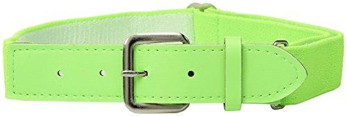 Augusta Sportswear Elastic Baseball Belt, Lime, One Size