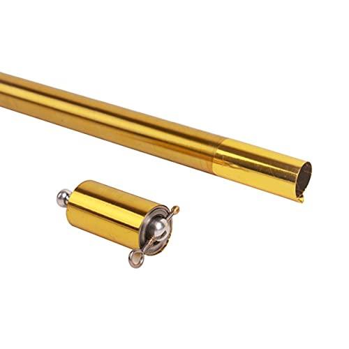 n\a Varilla telescópica elástica profesional mago etapa rendimiento acero metal Stick Bullet Stick mini portátil truco juguete