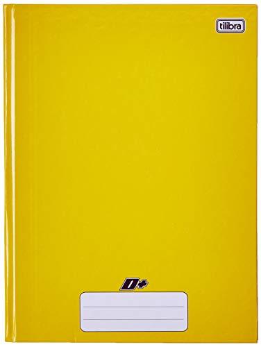 Caderno Brochura Capa Dura Universitário, Tilibra, D+, 48 Folhas, Amarelo
