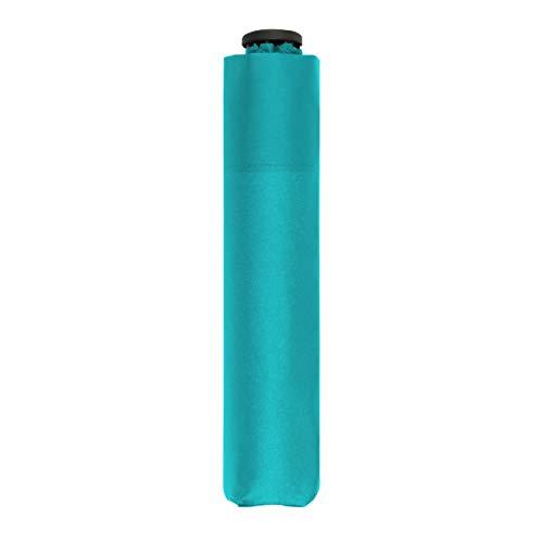 doppler Taschenschirm Zero,99 – Gewicht von nur 99 Gramm – Stabil – Windproof – 21 cm – Aqua Blue