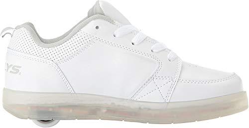 Heelys Unisex-Kinder Fitnessschuhe, Weiß (Triple White 000), 36.5 EU