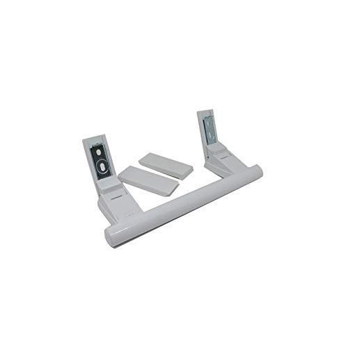 Tirador puerta frígorifico y congelador Liebherr 21cm con tapas embellecedoras