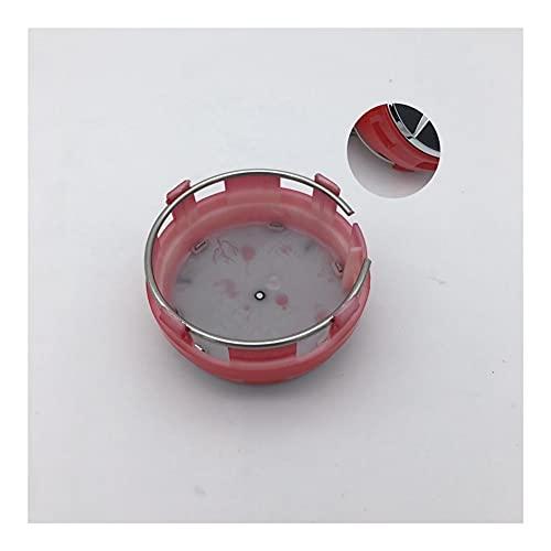 Tapas Para Llantas 4pcs / lote etiqueta engomada del coche rojo / negro / plateado / gris centrado de rueda de coche Caps Emblem compatible con Mercedes AMG Insignia Accesorios de estilo Cubierta cent