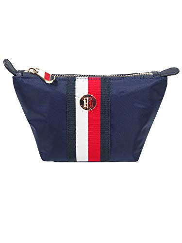 Tommy Hilfiger dames make-up tas Poppy make-up bag blauw AW0AW08371-0GY