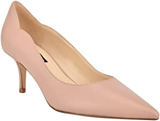 Nine West Women's Abaline Pump, Natural Leather, 8