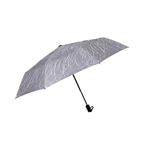 Tingting1992 Graffiti Creative Umbrella Umbrella Creative Umbrella Paraguas Anti-UV a Prueba de Lluvia (Color : Gray)