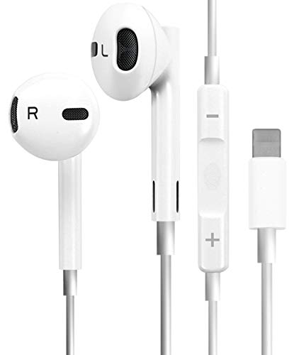 Earbuds/Earphones/Headphones for iPhone/iPad/iPod Wired Noise Isolating Built-in Microphone with Remote & Micphone Compatible