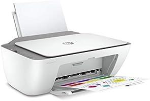 HP Deskjet 2720 Imprimante Tout-en-Un Jet d'Encre Couleur et Noir/Blanc (A4, Wifi, Bluetooth, HP Smart, Impression,...