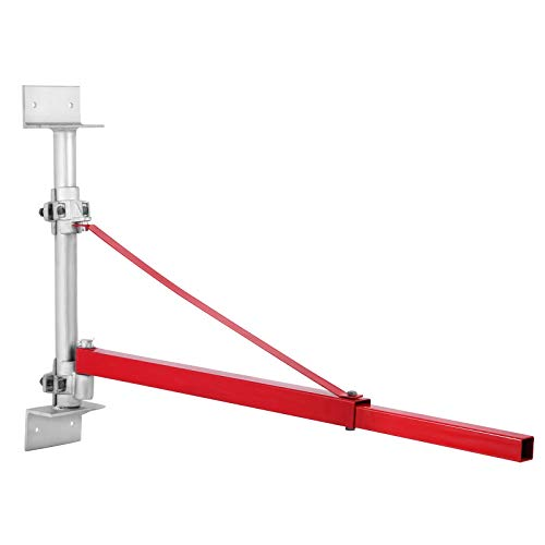 VEVOR Supporto del Braccio della Gru Elettrica da 300~600kg per il Braccio della Gru per l'Argano Verricello di Sollevamento 600 kg Braccio Girevole Oscillante Rotante Nuovo 180 °