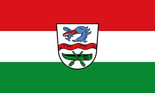 Unbekannt magFlags Tisch-Fahne/Tisch-Flagge: Rottach-Egern 15x25cm inkl. Tisch-Ständer
