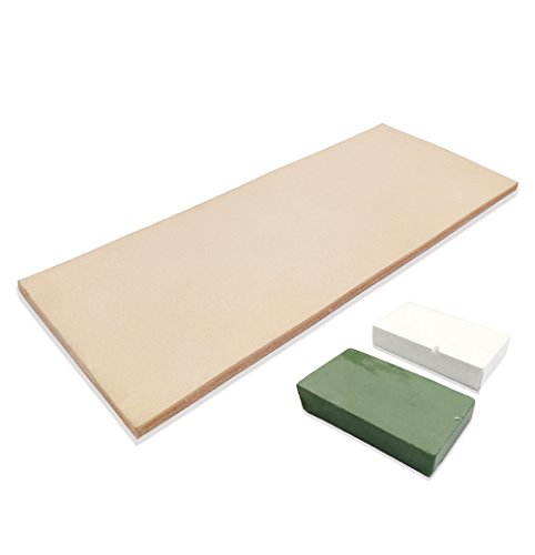 Recommended Strop: Lavoda Leather Honing 3 Inch Strip with Compound