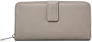 Women's RFID Blocking PU Leather Large Capacity Luxury Wallet Passport Holder Phone Pocket Handbag Card Case Flip Layer Zipper Pocket Clutch Large Travel Purse