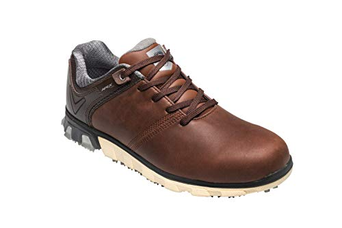 Callaway Apex Pro Waterproof Spikeless, Chaussures de Golf Homme, Marron (Brown Brown), 40.5 EU