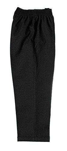 Zeco Schoolwear - Pantalón de Cocinero - Niños Gris Gris 9-10 Años