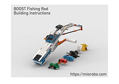 The LEGO BOOST 17101 Building instructions, Vol.8: fishing rod