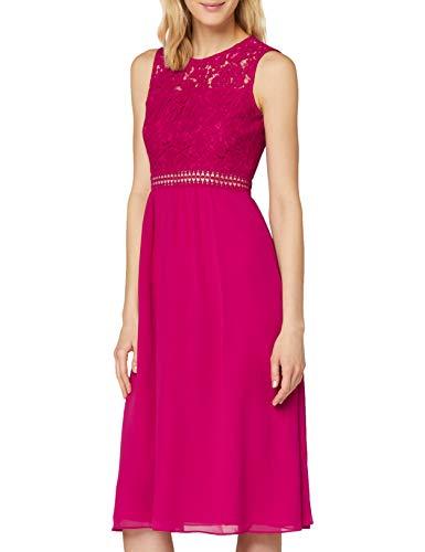 Amazon-Marke: TRUTH & Fable Damen brautkleid, Pink (Fuchsienrosa), 42, Label:XL