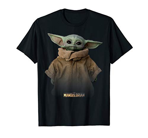 Star Wars The Mandalorian The Child Simple Portrait T-Shirt