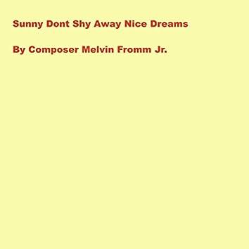 Sunny Dont Shy Away Nice Dreams