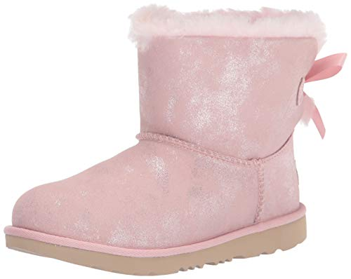 Koolaburra by UGG Girl's Victoria Short Fashion Boot, Raspberry Rose, 03 Youth US Little Kid
