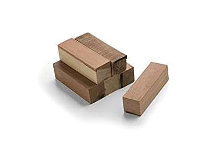kit de isntalación vigas decorativas. 6 tacos madera pino. NMC Noma Beam