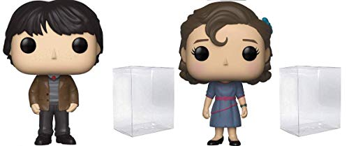 Funko Pop! Televison Stranger Things - Mike Wheeler and Eleven at Snowball Dance Vinyl Figure Bundle of 2 Pops - Shipped in Playola Pop Protectors