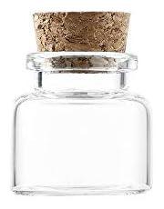 Szklane słoiki z pokrywkami korkowymi, przezroczyste butelki na kosmetyki pojemnik do własnoręcznego wykonania sztuka rękodzieła dekoracja, upominki ślubne, życzenia biżuteria na przyjęcie, akcesoria do przechowywania
